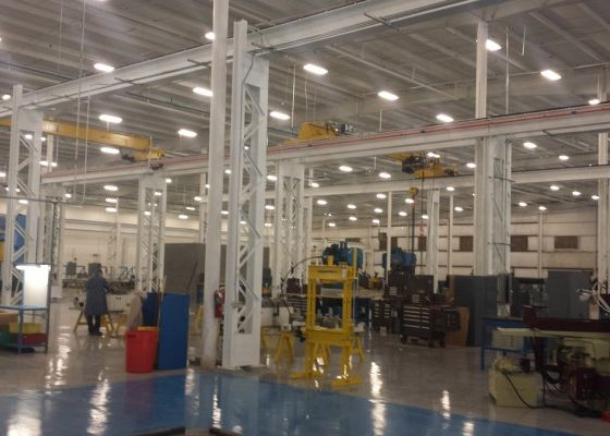 Overhead Cranes at Excel Industries