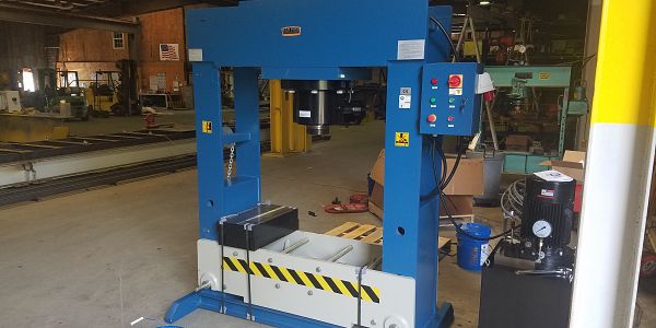 200 ton press purchased for Excels shop