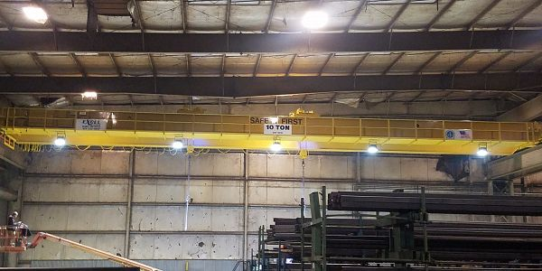 Siskin Steel Crane for Nashville location